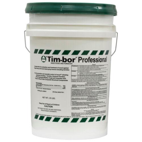 Nisus Timbor Tim-bor Professional ( 25 Lbs ) Insecticide Termiticide Fungicide