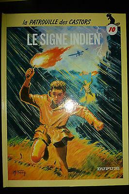 BD la patrouille des castors n°10 le signe indien cartonnée 1986 TBE mitacq