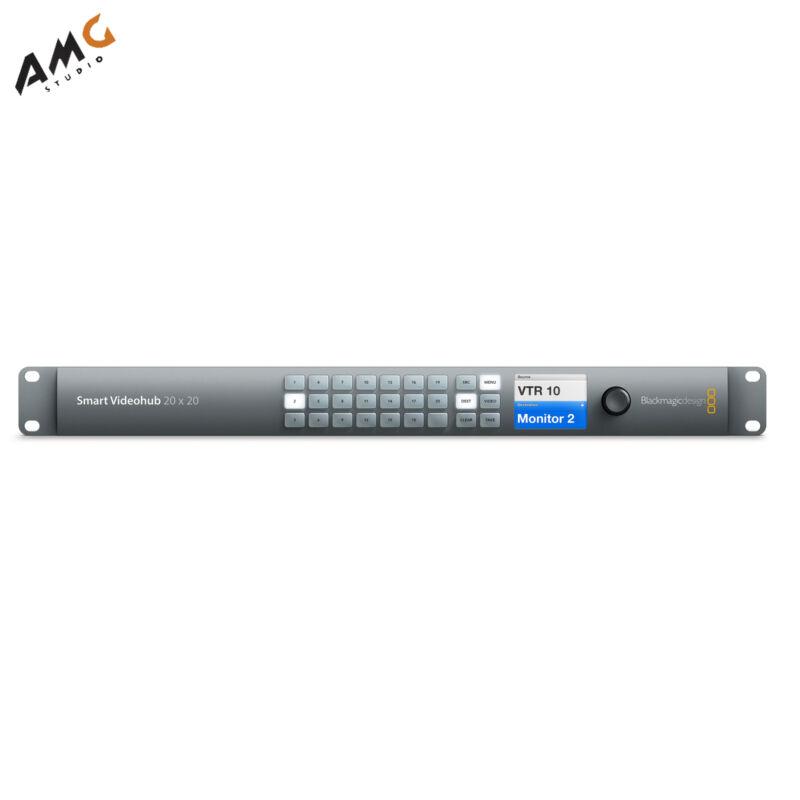 Blackmagic Design Smart Videohub 20 x 20 6G-SDI VHUBSMART6G2020 BACKORDERED