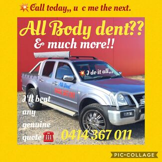 Dents removal and scratches repair