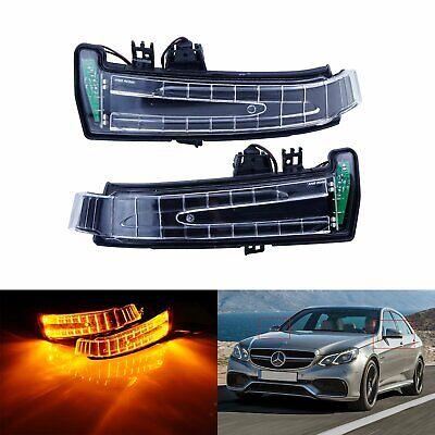für Mercedes A B C E Klasse W176 W246 W204 W212 LED Spiegelblinker Blinker L + R
