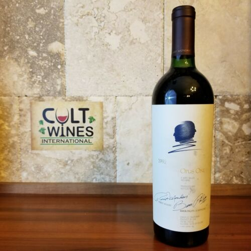 RP 92 pts! 1992 Opus One wine, Napa Valley