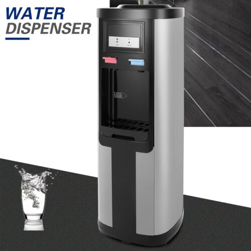 5 Gallon Top Loading Stainless Steel Hot/Cold Water Cooler D
