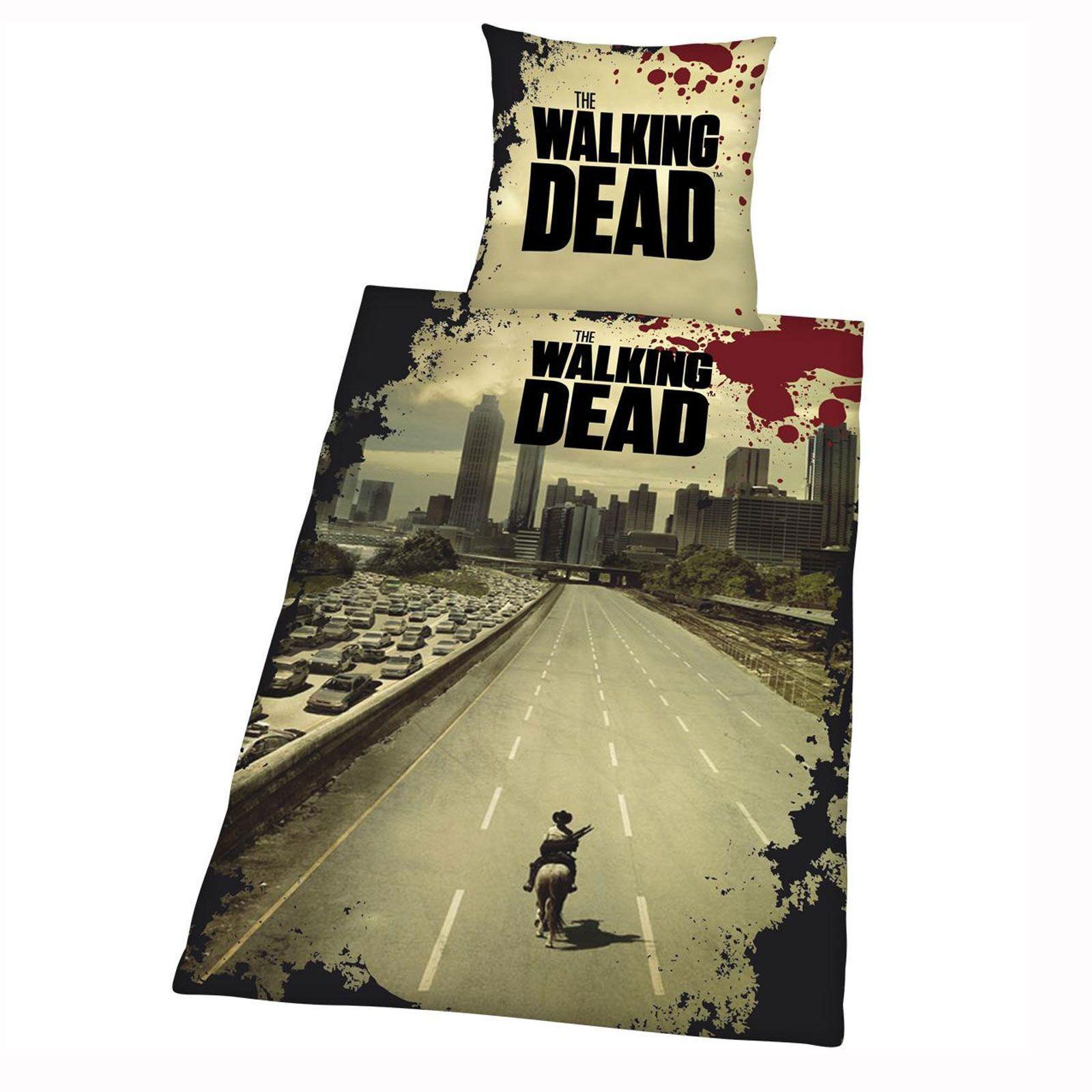 The Walking Dead Bettwäsche 135x200cm Microfaser Herding Günstig