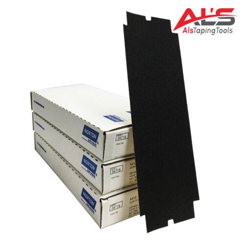 Norton Drywall Pole Sander Paper 120 Grit (150 Sheets)