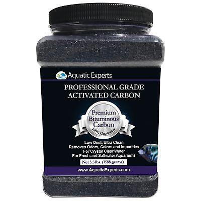 Aquatic Experts Premium Activated Carbon - Aquarium Filter Charcoal Media with
