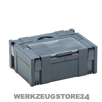 Tanos Classic Systainer mit Deckelsortierfach Gr. 2 anthrazit 80001589