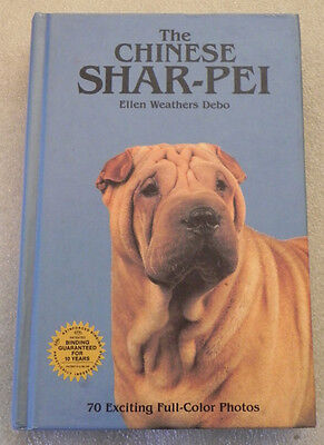 SHAR-PEI dog breed book CHINESE shar pei care history photos HB