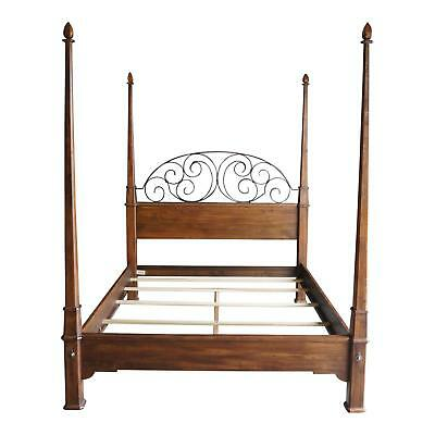 Bedroom Maple Poster Bed (4 Poster Bed ~ Queen Bed ~ Iron Bed ~ Old World Treasures Bed by Ethan Allen )