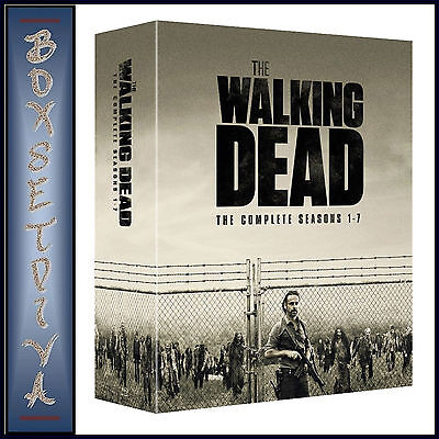 THE WALKING DEAD - COMPLETE SEASONS 1 2 3 4 5 6 & 7  *BRAND NEW BLU-RAY BOXSET*, used for sale  Shipping to Canada