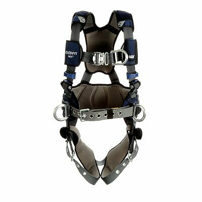 3m Dbi-sala Exofit Nex Plus Comfort Construction Harness 1140190 - X-lg - Gray