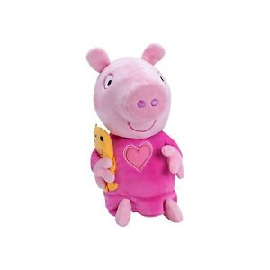 Talking Peppa Pig Bedtime Plush Toy Teddy Age 18 months New With Tags