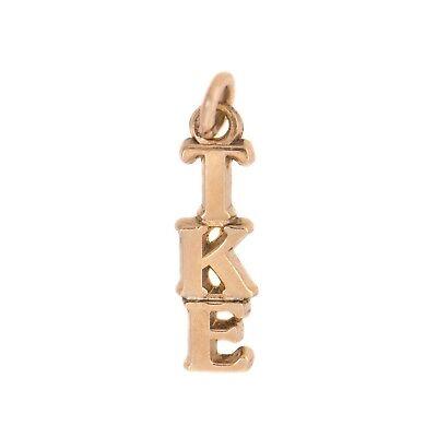 Kappa Sigma 14k Gold Plated Fraternity Lavalier w//o Chain Kappa Sig