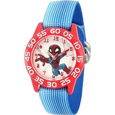 "-NEW IN BOX- MARVEL, Spider-man ""TIME TEACHER"" KIDS WATCH"