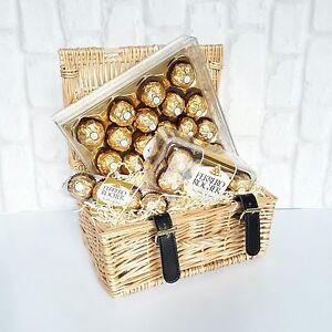 Birthday gift basket ebay ferrero rocher chocolate hamper gift basket birthday wedding anniversary negle Image collections