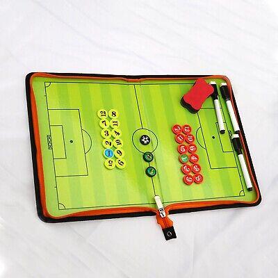1x Fußball Magnetisches Taktiktafel mit 3x Markierungsstift + 1x Radiergummi
