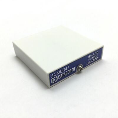 Dataforth Scm5b47k-05d Linearized Isolated Type K Thermocouple Input Module
