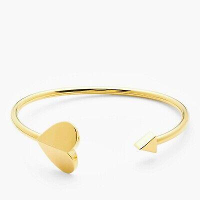 Kate Spade New York Arrow Heart Open Bangle, Gold
