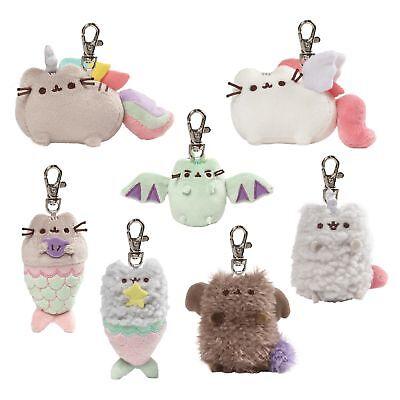 Gund 4060980EU Pusheen the Cat Surprise Plush Keyring Series 6 Magical Kitties