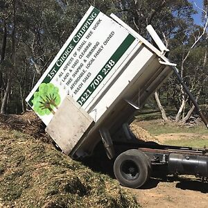 Tipper truck & Wood Chipper for sale - possible ongoing work.. Leura Blue Mountains Preview