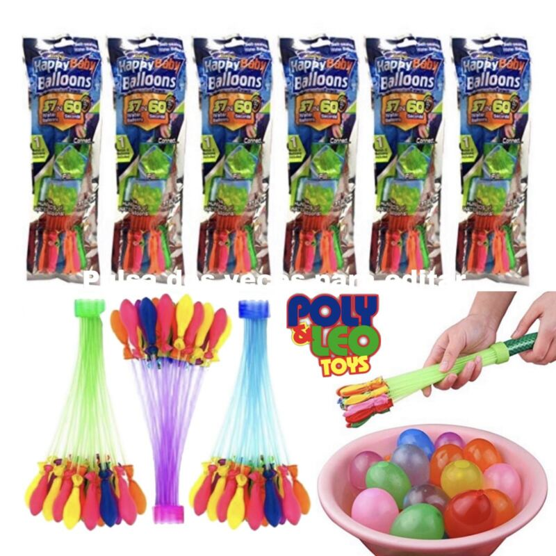 Bunch O Balloon style - Packs 444 Pcs Self-Sealing Instant Water Balloons