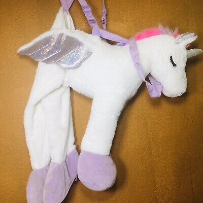 Halloween Hyde and Eek! Boutique Toddler Plush Unicorn Rider Costume One Size