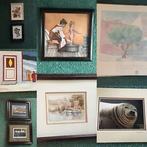 9 x Pictures and Prints Lot