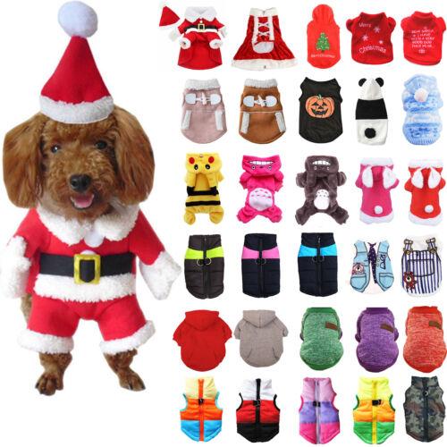 Haustiere Katze Hunde Hundemantel Hundekleidung Pullover Pulli Jacke Hundeweste