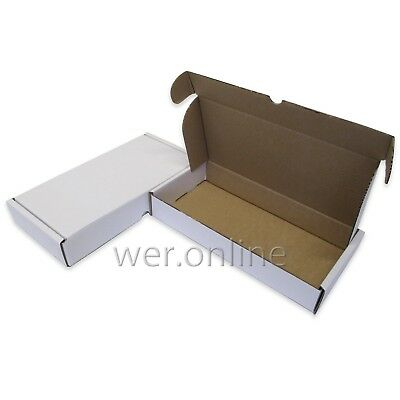 5 x White Postal Mailing Packaging 12 x 6 x 2