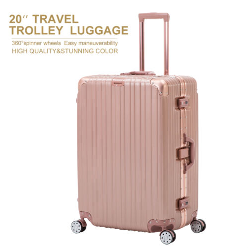 20'' Luggage Travel Set with 4 Wheels Bag Trolley Case Carry