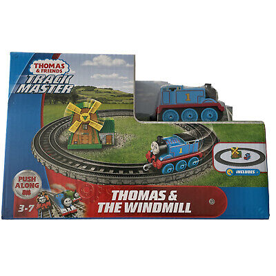Thomas And Friends Track Master Push Along Thomas And The Windmill Play Set NEW
