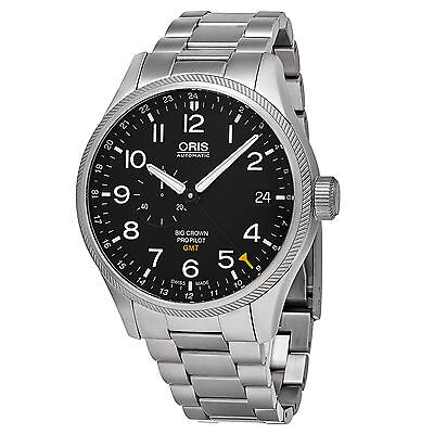 Oris Big Crown ProPilot GMT Automatic Black Dial Stainless Steel Men's Watch
