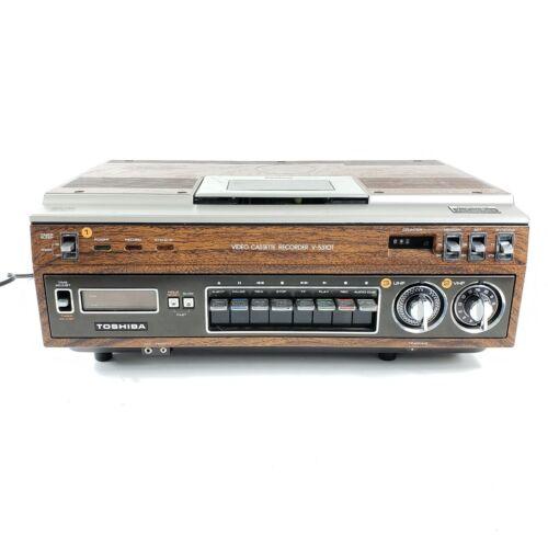 Vintage Toshiba Betamax VCR model V-5310T - Free Shipping