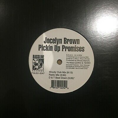 "Jocelyn Brown- Pickin Up Promises 12"""