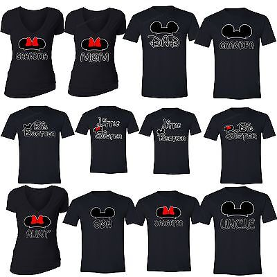 Family Vacation T Shirts Matching Mom Dad Brother Sister Grandma Aunt Son