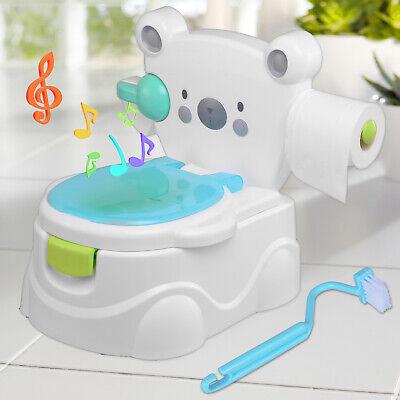 Toilettentrainer Kinder WC Toilettensitz Baby Potty Lerntöpfchen Toilette Music ()