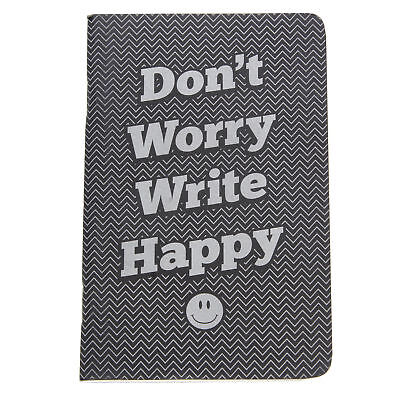 Retro 51 Dont Worry Write Happy Pocket Notebook Lined New