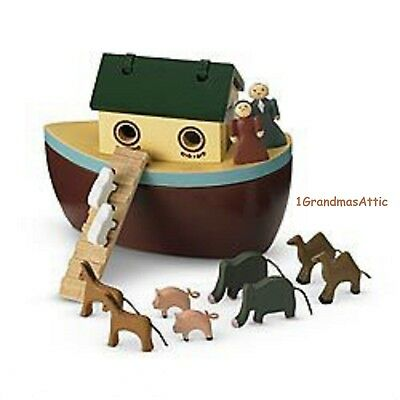 American Girl Felicity's Noah's Ark, Retired NIB NRFB Ship Animals Noah