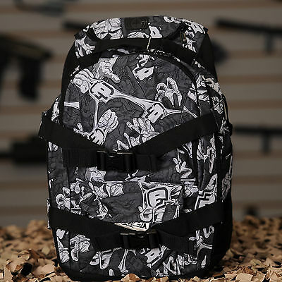 NEW Planet Eclipse 2014 Gravel Paintball Backpack Gear Bag - Stretch White