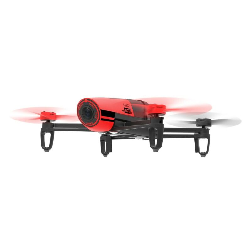 Parrot Bebop Quadcopter Drone with Full Wide-Angle Camera - 31 MPH Top Speed