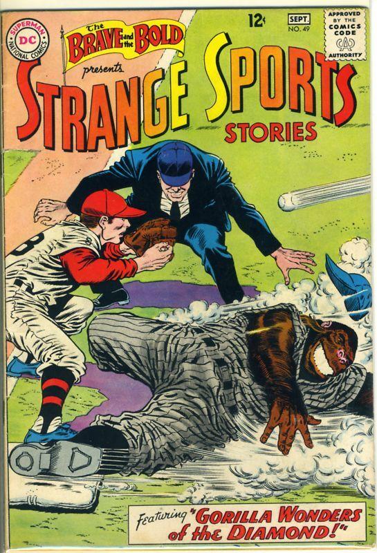 BRAVE and BOLD, STRANGE SPORTS STORIES #49 ©1963 DC