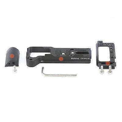 For Olympus OMD EM5 III Camera Vertical L Bracket QR Plate Base with Handle Grip