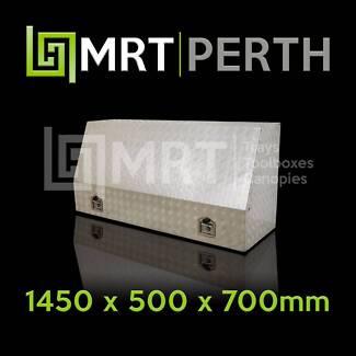 FULL OPENING ALUMINIUM TOOLBOX MRT6 – 1450mm x 500mm x 700mm