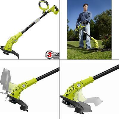 - Cordless String Trimmer Lawn Edger Grass Cutter Electric Weed Wacker 18V Ryobi