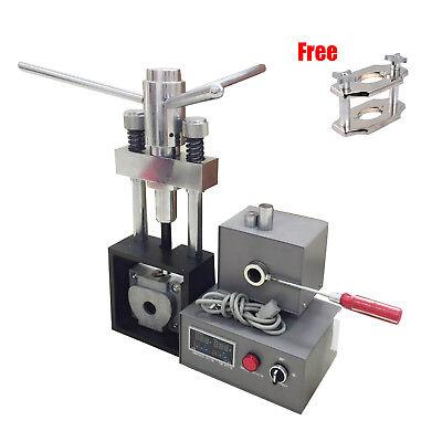 Dental Lab Flexible Denture Injection Partial Machine Heater Reline Jig Compress