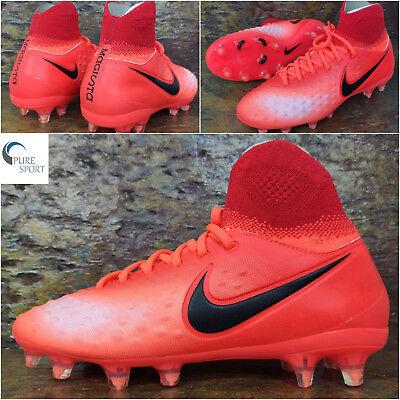 NIKE Junior MAGISTA OBRA II FG Football Boots Uk 5 Eu 38 844410-806 TOP SPEC