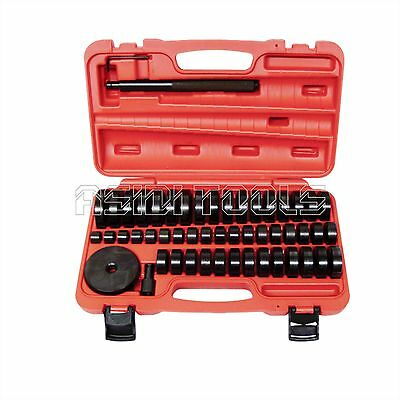 51Pc Custom Bushing Bearing Seal Driver Push Press Disc Tool Set 18-65mm for sale  Shipping to Ireland