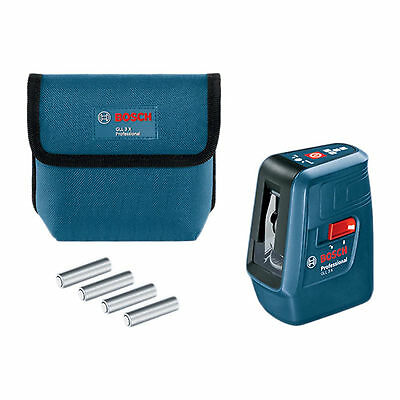 Bosch GLL 3X Professional Self Level Cross Line Laser
