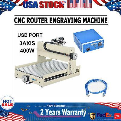 3 Axis Usb Cnc 3040 Router Engraver Desktop Engraving Machine 3d Woodwork Cutter