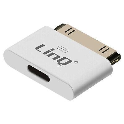 Adaptador iPhone y iPad a Apple 30 Pin de LinQ IP-7749 -...